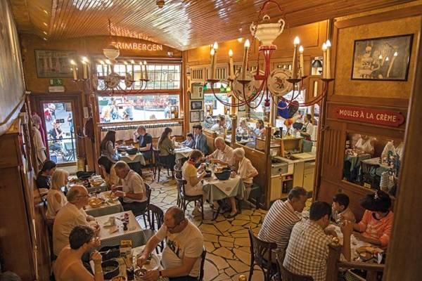 In Brüssel kehrt man bei «Chez Leon» ein - eine Brüsseler Institution