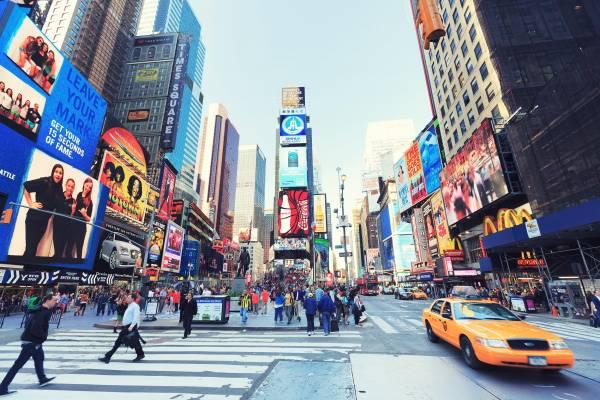 Muss man gesehen haben – der berühmte Times Square