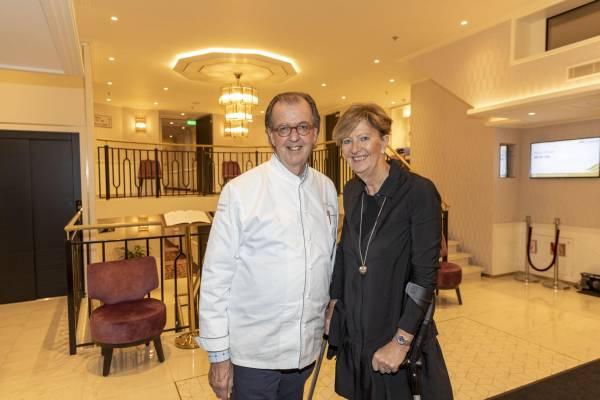 André Jaeger und Ursula Kuratle an Bord der Excellence Countess