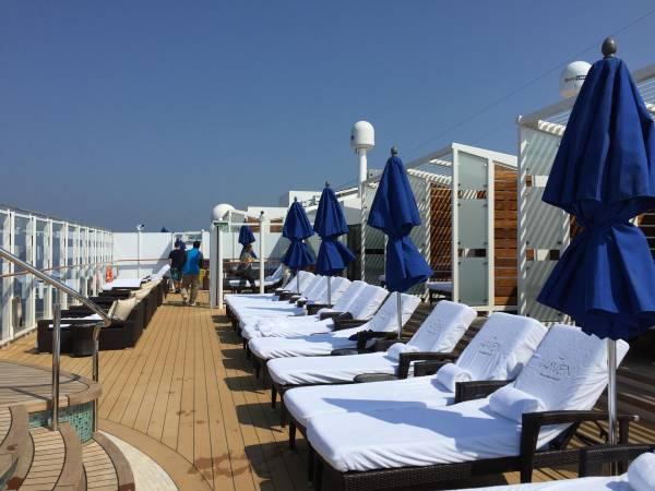 Im «Vibe Beach Club» kann man die Ruhe geniessen