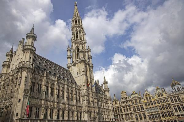 Hôtel de Ville am Grand-Place Brüssel