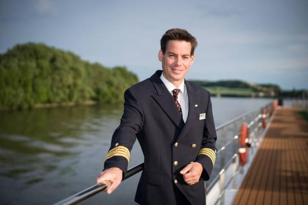 Der Kapitän der Donauprinzessin