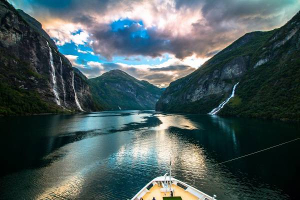 Magische Natur im Geirangerfjord – Bild von unserem Fotowettbewerb 2017