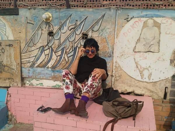 «Wenn es kompliziert ist, macht es mir richtig Spass. Deshalb mache ich alles nur ein Mal.» Die Zürcher Architektin, Designerin und Perfektionistin Pia Schmid in Kairo.