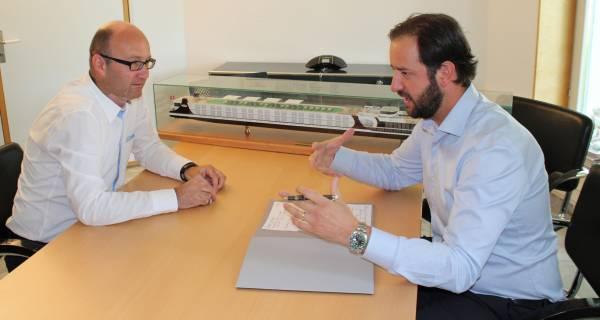Stephan Frei und Karim Twerenbold äussern sich zu Umwelt- und Nachhaltigkeitsfragen der Unternehmensgruppe und der Excellence Flussreisen.