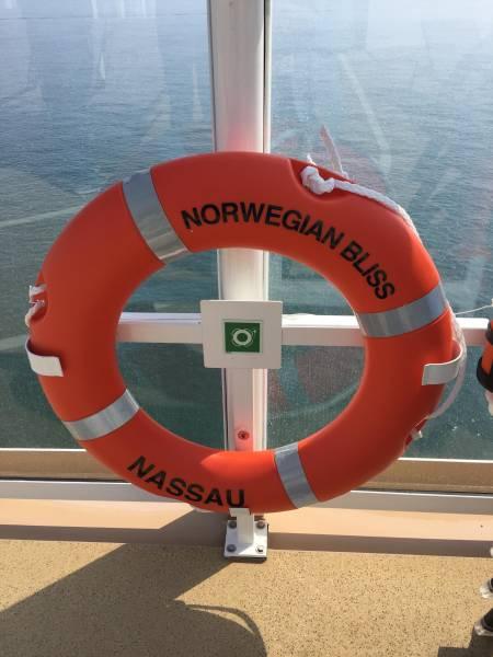 Die Schiffsreisenmacherinnen erkunden die Norwegian Bliss