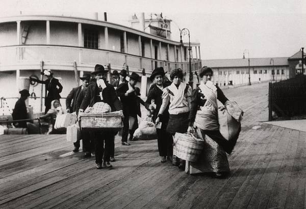 Die Einwanderungs-Ära von New York