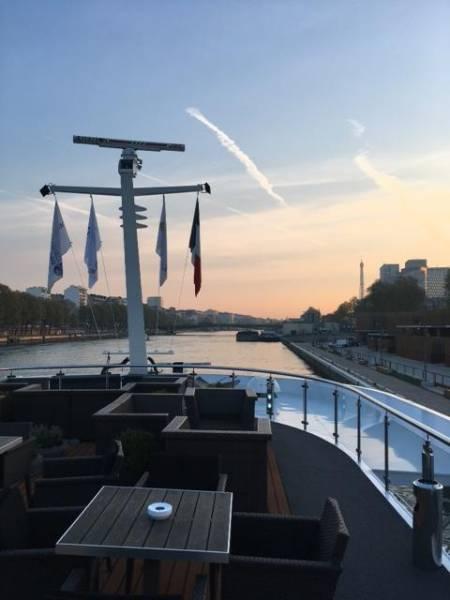 Morgenstimmung mit Blick auf Paris